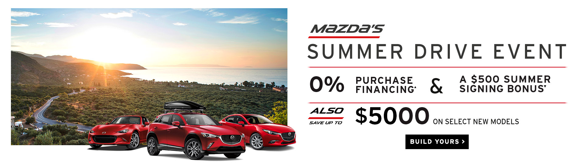 Drive Into Summer - Angevaare Mazda