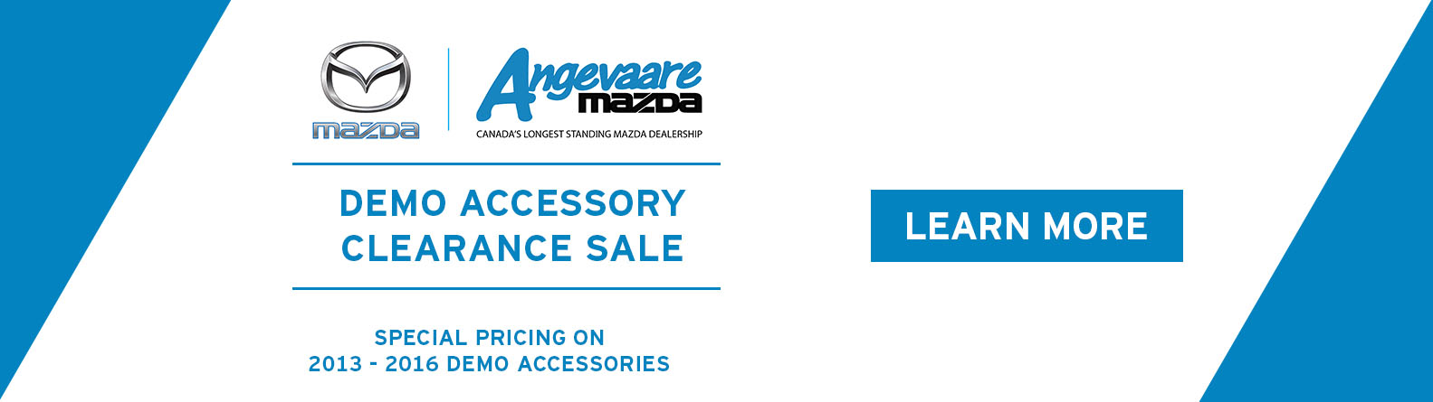 Demo Accessory Clearance Sale