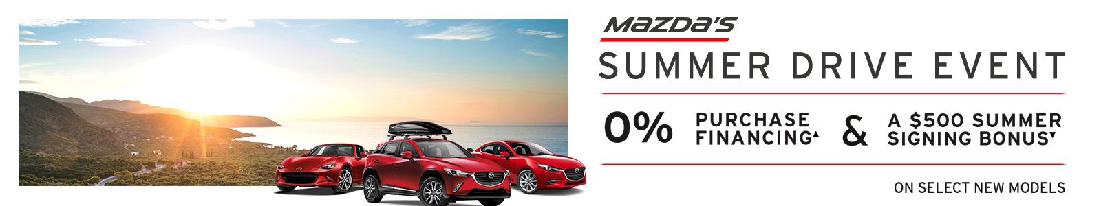 Angevaare Mazda Get into the Drive Event