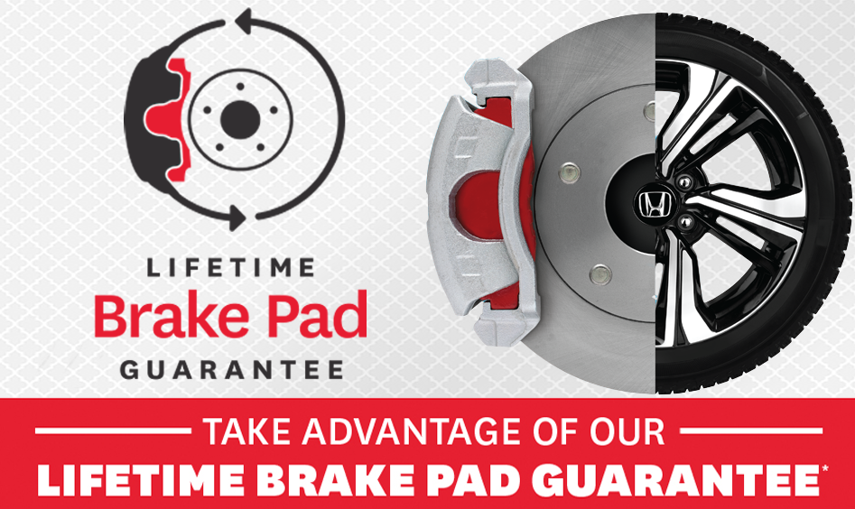 Honda Lifetime Brake Pad Gurantee