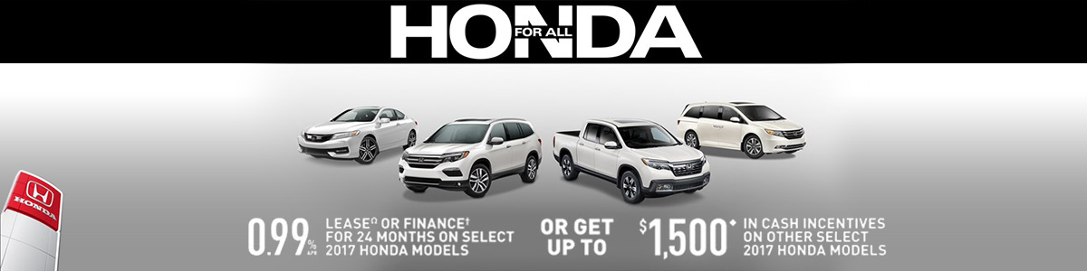 Mississauga Honda for All Sales Event