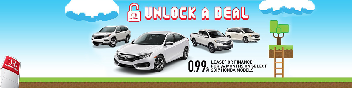 Unlock a Deal Sales Event at Mississauga Honda
