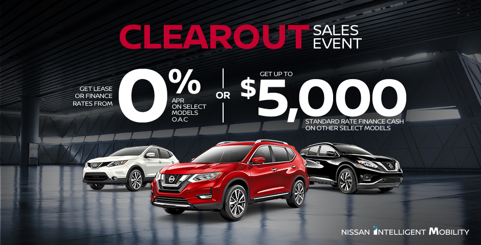 Home | Nissan Canada Ontario Offers
