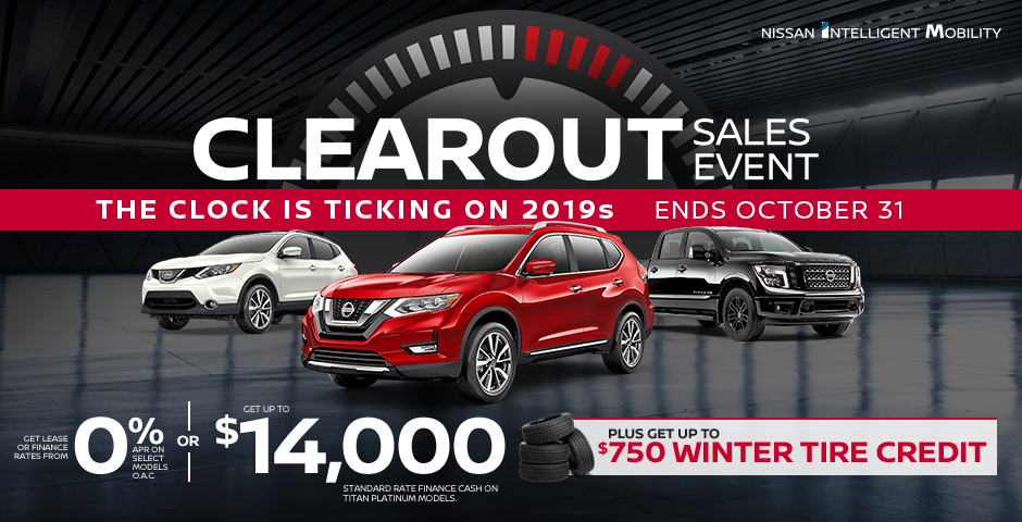 Home Nissan Canada Western Offers