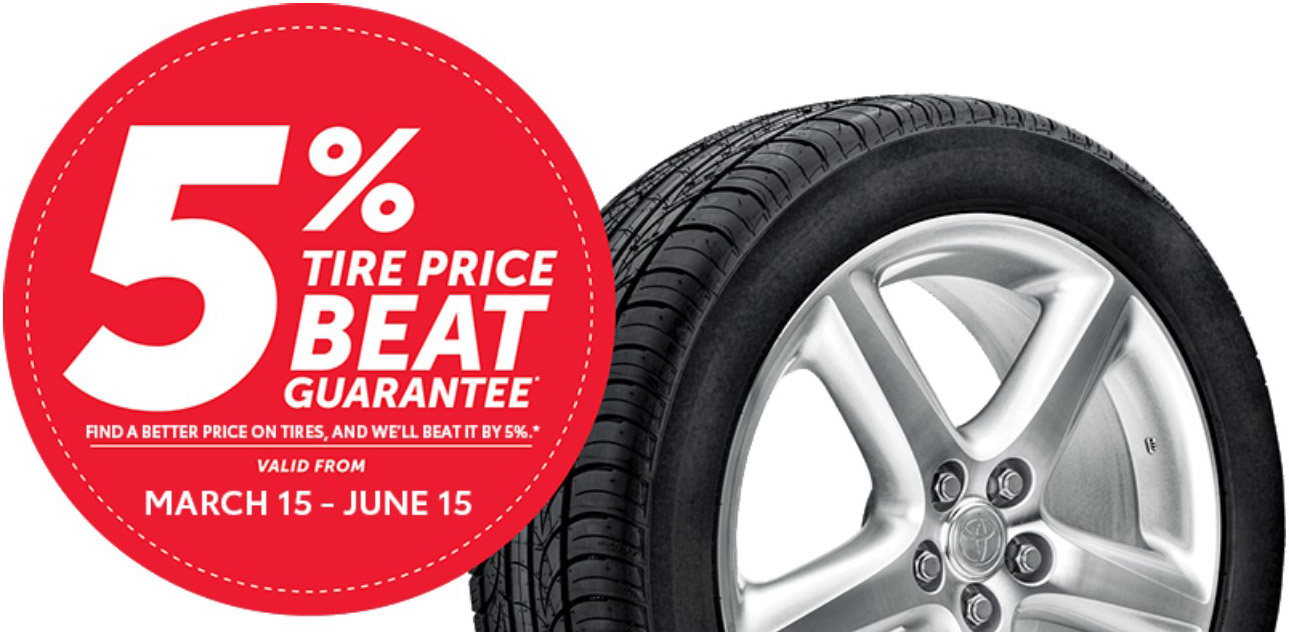Toyota Tire Price Match Guarantee! - Image