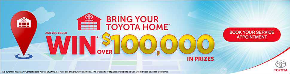 Bring Your Toyota Home And Win Big! - Image