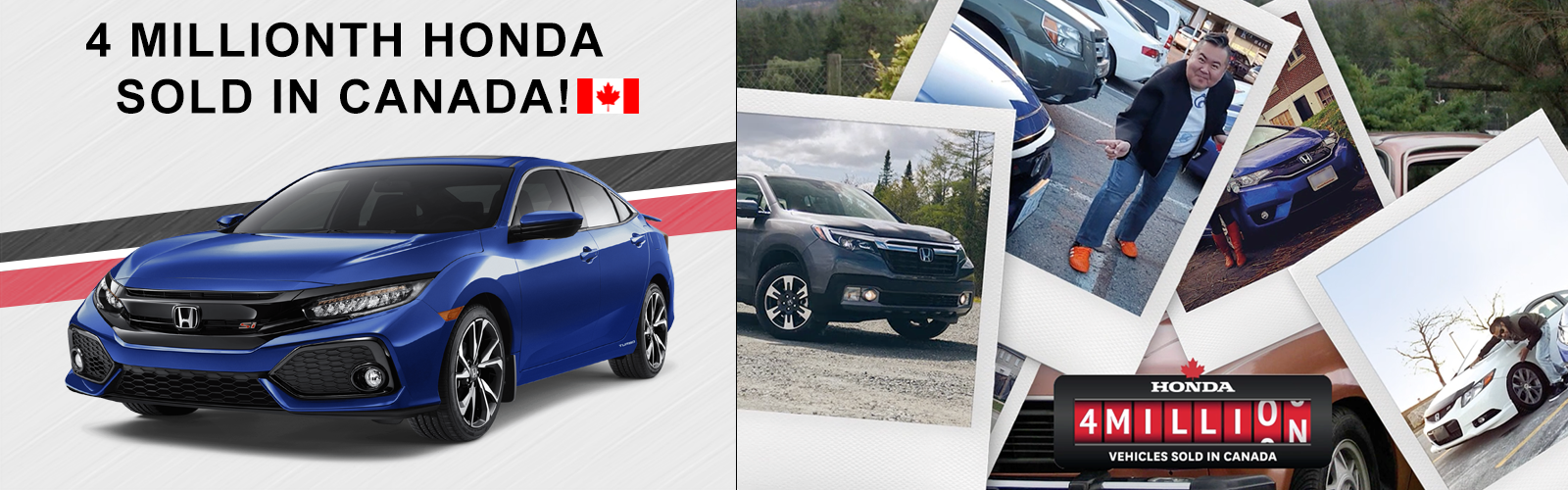 4 Million Honda Vehicles Sold In Canada