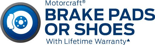 MOTORCRAFT BRAKE PADS OR SHOES - Image