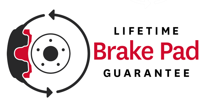 Lifetime Brake Pad Guarantee - Image