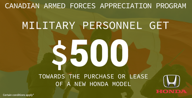 Honda Military Rebate - Image