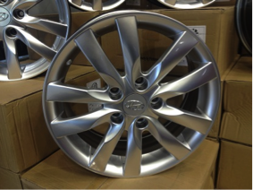 16X7.0 Alloy Wheels – Richmond Hill Hyundai Exclusive! - Image