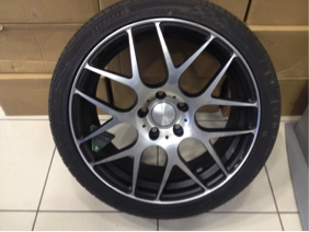 FAST Wheels Essen 18x8.0 with 225/40R18 EverGreen EU72 UHP. Free Nitrogen upgrade! - Image