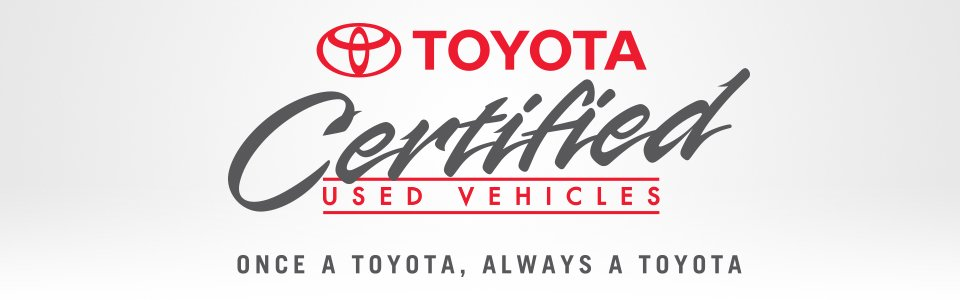 Certified Used Toyota >> Toyota Certified Used