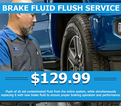 Brake Fluid Flush Service <br> $129.99 - Image