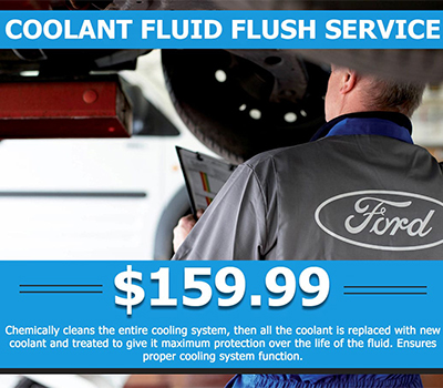 Coolant Fluid Flush Service <br> $159.99 - Image