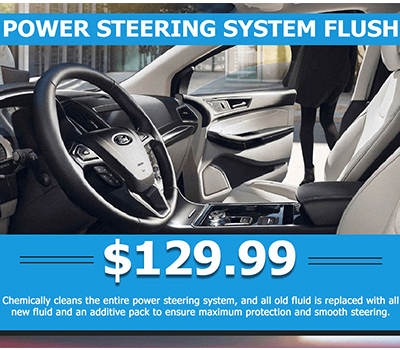 Power Steering System Flush<br> $129.99  - Image