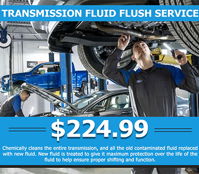 Transmission Fluid Flush Service<br> $224.99 - Image
