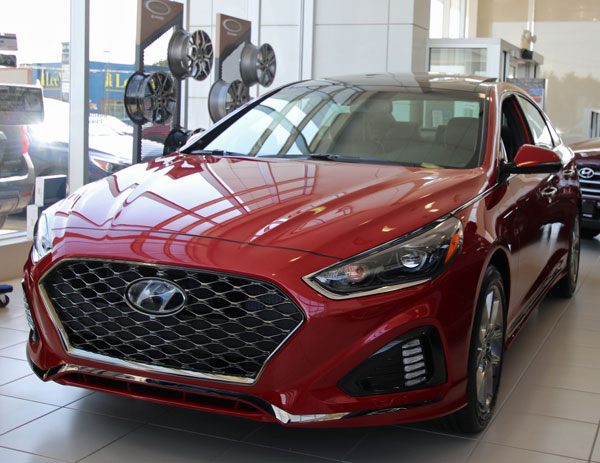 $4500 Off 2018 Sonata Sport Ultimate - Image