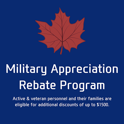 Military Appreciation Rebates - Image