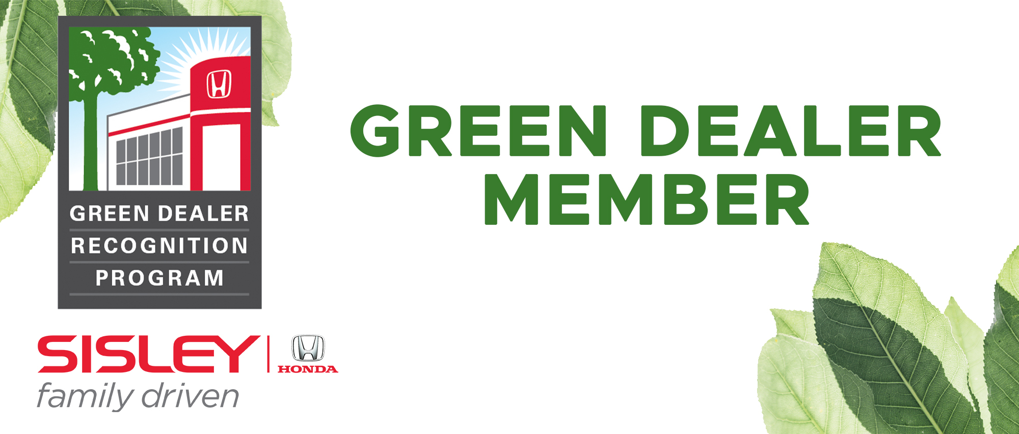 Green Dealer Award