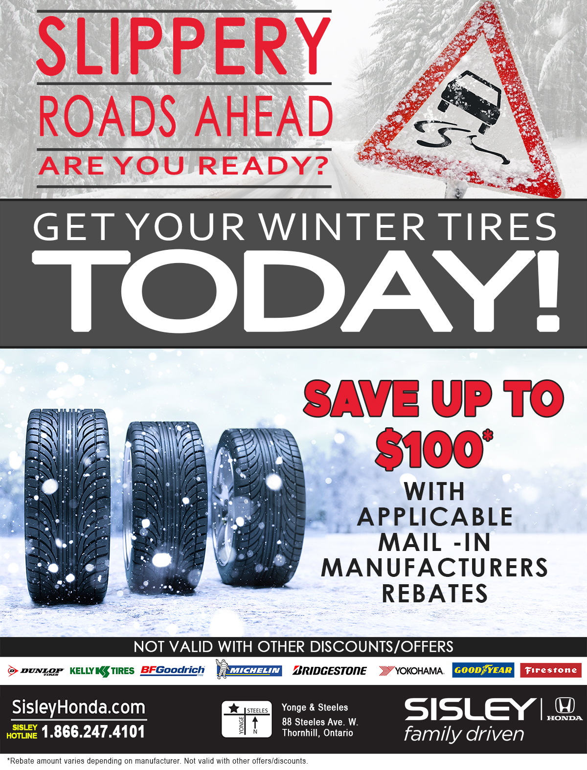 Get Your Winter Tires Today!