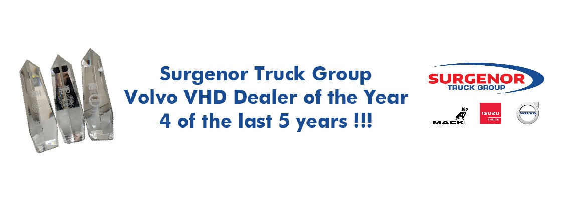 Volvo VHD Dealer of the Year