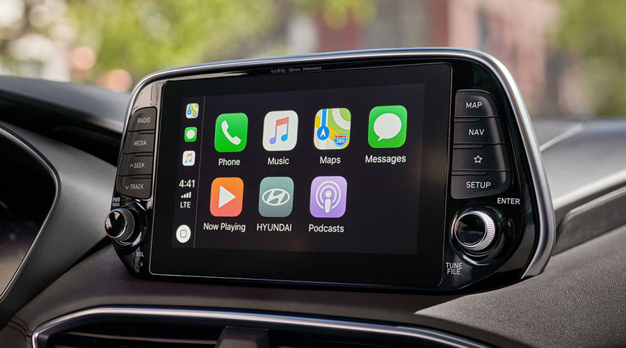 Apple CarPlayTM and Android AutoTM